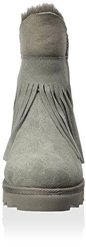 Ash Yago Rund Wildleder Mode-Stiefeletten Stone