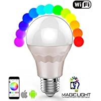 Ryham Luce WIFI ha condotto la lampadina, E27 7.5W intelligente