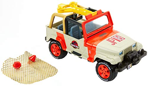 Jurassic World Vehículo rescata dinosaurios, coche juguete...