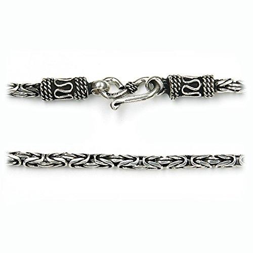 re-collana-25-mm-spessore-in-molte-lunghezze-in-legno-massiccio-925-sterling-argento-fatti-a-mano-co