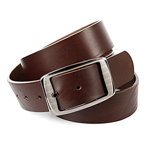 Anthoni Crown Men's 3J140 Belt, Braun (Braun 040), 115