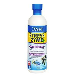 API Stress Zyme Activateur d'eau douce et d'eau de mer Solution de nettoyage pour aquarium