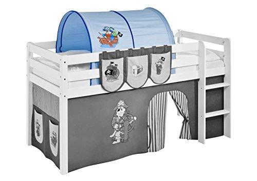 Lilokids Tunnel Pirat Blau - für Hochbett, Spielbett und Etagenbett