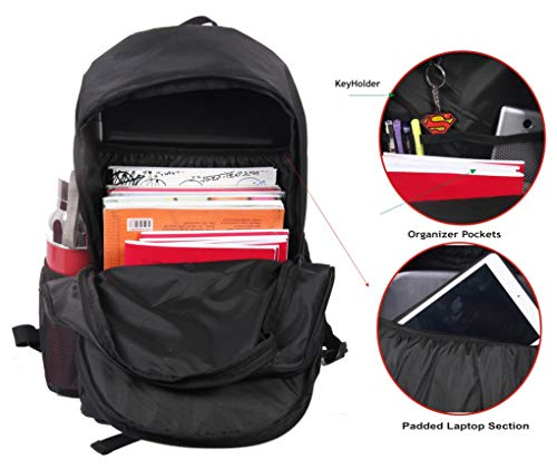POLESTAR Amaze 30 LTR Black Casual/Travel Backpack with Laptop Compartment Image 6