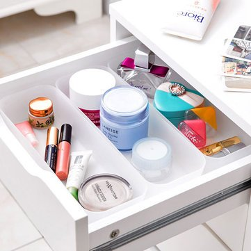 Atoz prime Spacer Layer Tableware Storage Box Kitchen Cosmetic Holder Organizer Store Basket Large size