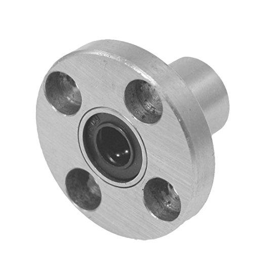 Preisvergleich Produktbild LM6 6mm x 12mm x 19mm Buchse rund Linearlager Kugellager Flanschlager