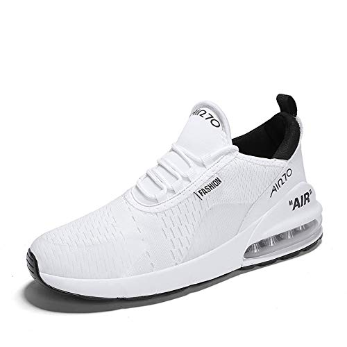 YAYADI Herren Laufschuhe Sport Im Freien Bequem Atmungsaktiv Männer Sneakers 270 Frauen Jogging Schuhe, 43