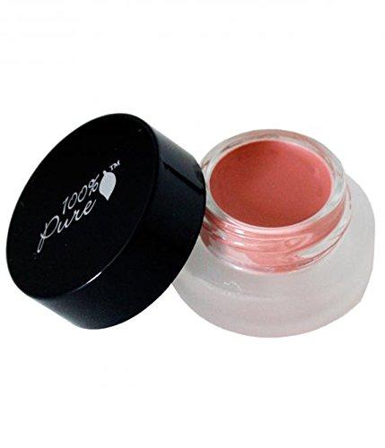 100% pure cosmétique naturel Fruit pigmen Ted Pot Rouge Peachy, Net Wt. 0.12 oz/3,5 g