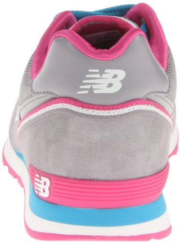 New Balance Classic Traditionnel Grey Pink Youths Trainers Grey Pink