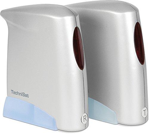 funk receiver TechniSat SkyFunk 3 AV/IR Digitalreceiver (2x Netzteil, 2x Video/Audioanschlusskabel, SCART) silber