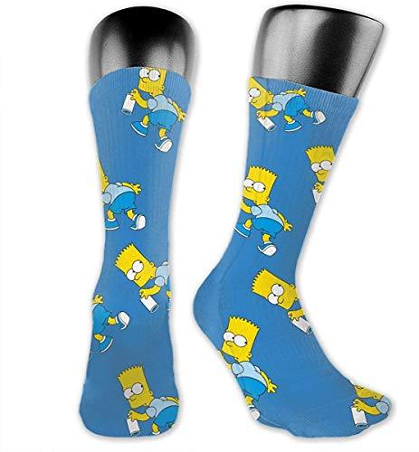 NR - Disfraz calcetín correr poliéster Simpson