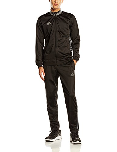 adidas Herren Trainingsanzug Condivo 16, Black/Vista Grey S15, XL, AN9831 (Black Anzug-jacke Label)