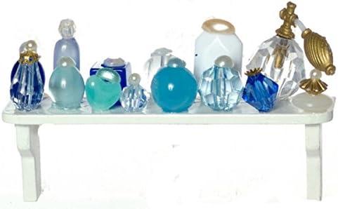 Farrow Industries toilette Maison de poupées accessoire étagère articles de toilette Industries et cosmétiques bleus B009L39W3S 9d039f