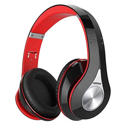 opfhörer Over Ear, [Bis zu 20 Std] Kabellose Kopfhörer mit Hi-Fi Stereo, Dual 40mm Treiber, Over Ear Kopfhörer mit CVC 6.0 Noise Canceling für Integriertem Mikrofon Freisprechen ()