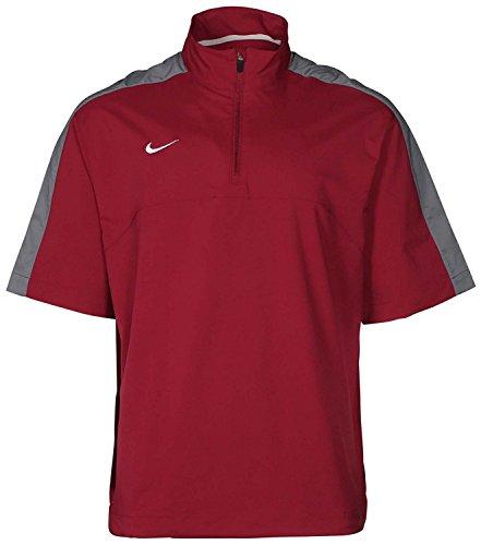 Nike Men's Dri-Fit 1/4 Zip Short Sleeve Training Jacket (Nike Dri-fit-pull)