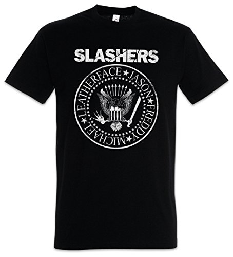Urban Backwoods Slashers Logo T-Shirt – Größen S - 5XL (Texas A&m-jersey-material)