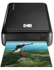 Kodak Mini 2 HD Wireless Mobile Instant Photo Printer w/4PASS Patented Printing Technology (Black) - Compatible w/iOS & Android Devices - Real Ink in an Instant