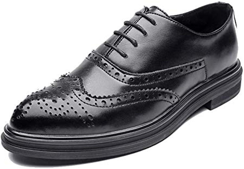 Oudan Scarpe Oxford da da da Uomo da Uomo 2018, Casual Stile Britannico Scarpe Basse Stile Basso Classico intagliate... | Prezzo Pazzesco  | Scolaro/Signora Scarpa  1a5c12