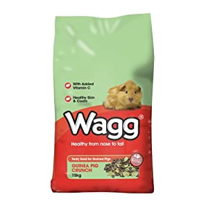 Wagg Guinea Pig Crunch Guinea Pig Food 2kg from Wagg