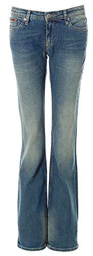 Tommy Hilfiger Jeans Damen Mid Rise Boot Sandy Boot-Cut Bootcut Jeanshose (Bronx Blue, W29/L34) Mid-rise Boot