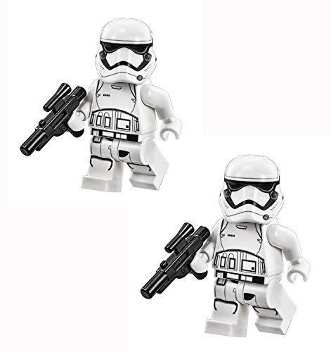 LEGO Star Wars The Force Awakens Minifigur - 2er Pack First Order Stormtrooper mit Blaster Guns