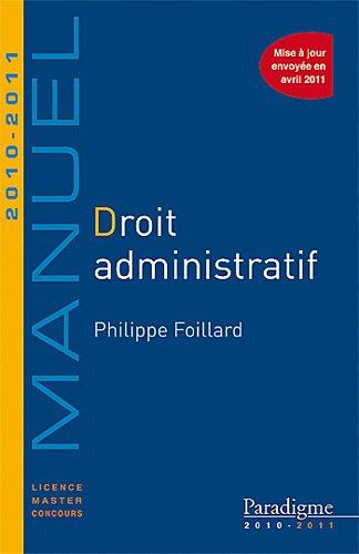 Droit administratif 2010-2011