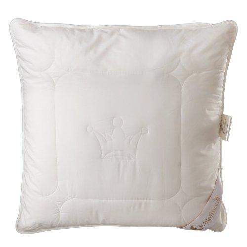 Schlafmond Der kleine Prinz Naturfaser Kopfkissen, aus Tencel Schurwolle Kapok, speziell für Allergiker (80x80 cm) -