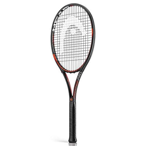 HEAD Erwachsene Schläger Graphene XT Prestige Pro, Schwarz/Rot/Orange, 30, 0726424223343 (Head Tennisschläger)