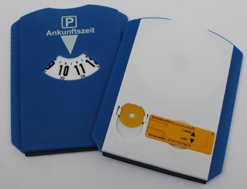 Parkscheibe + Eiskratzer + Profilmesser + Einkaufswagenchip