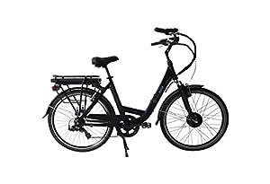 vélo électrique Wayscral City 415 36V | 13,2 Ah | Noir