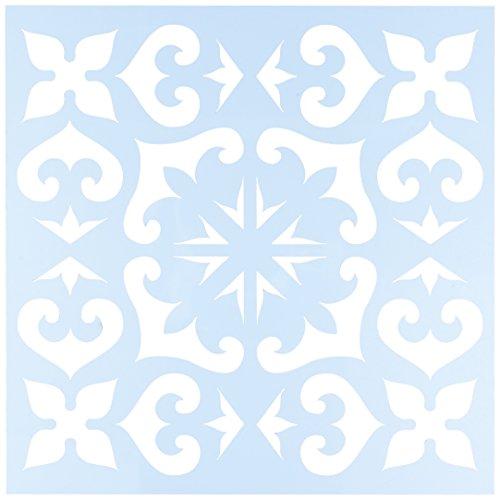 plantillas-para-estarcir-transparentes-304-x-304-cm-diseno-azulejo-mexicano