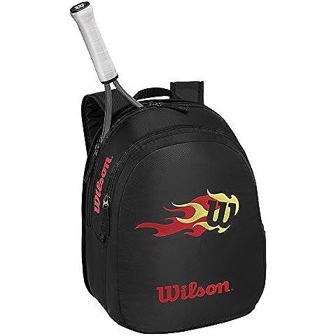 Wilson Match Jr Borsa, Nero/Rosso - Wilson Zaino Tennis Nero