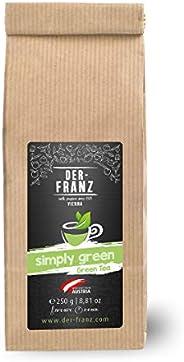 """Der-Franz Grüner Tee """"Simply Green"""" in ganzen Blättern, 250g"""