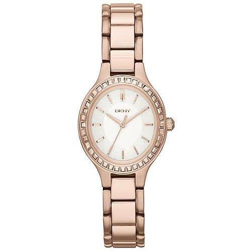 DKNY FALL 14 ny2222 Rose Gold Steel Bracelet & Case Mineral Women's Watch