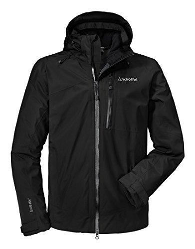 Schöffel Herren Jacket Padova1 Jacke, Black, 54 (Gore Jacke Tex 1)