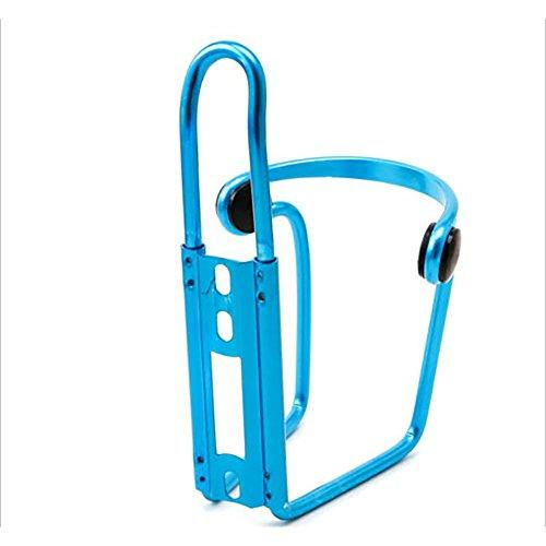 Delleu Fahrrad Wasser Flasche Käfig, Legierung Aktualisiert Fahrrad Wasser Flaschenhalter Käfig Road Mountain Bikes, Blau