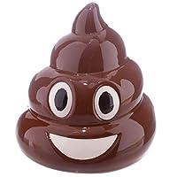 CUNQIKUN Money Box Emoji Money Pot Ceramic Coin Piggy Bank Funny Gifts Kids Novelty Prank Jokes,A
