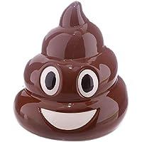 Preisvergleich für CUNQIKUN Geld Box Emoji Geld Topf Keramik Münze Sparschwein Lustige Geschenke Für Kinder Neuheit Streich Witze