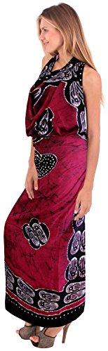 annata 100% costumi da bagno di cotone mano batik bikni hawaiano sarong pannello esterno delle donne Batik Colore Rosa