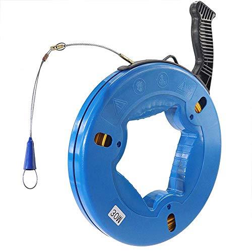 Fish Tape Cable Puller Mini Kabel Schlange Für Steckdosen Stecker Steckdosen Lampen Deckenventilatoren Dimmer Schalter-ca. 30M
