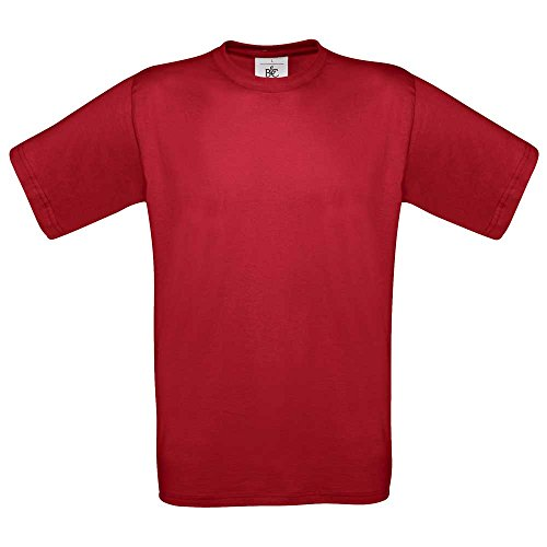 B&C Collection Exact 150 T-Shirt Deep Red