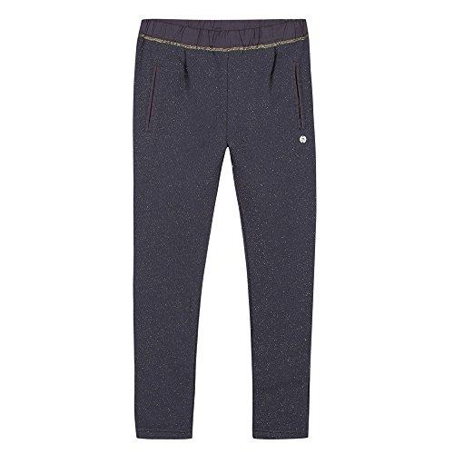 3 Pommes Jogging, Pantalon de Sport Fille, Bleu (Bleu Grise), 9-10 Ans (Taille Fabricant: 9/10A)