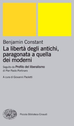La libert degli antichi, paragonata a quella dei moderni (Einaudi tascabili Vol. 887)