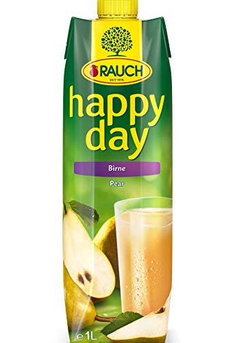Rauch Happy Day Birne, 6er Pack (6 x 1 l Packung)