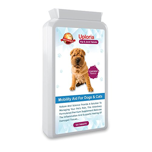 Suplementos Articulares Para Perros - 120 Comprimidos Con Sabor A Pollo |...