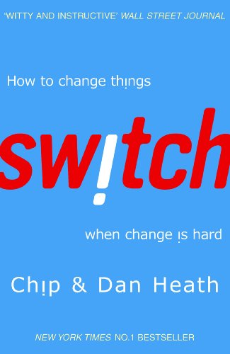 If you've ever needed to make changes, in your life or at work, then Switch: How to change things when change is hard might be your new best friend.