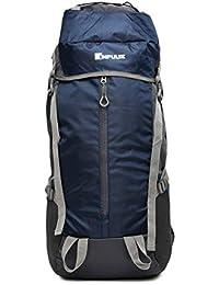 Impulse 65 Ltrs Blue Trekking Backpack (Thriller 65 LTR N Blue)