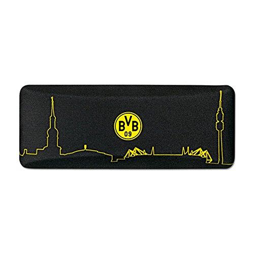 Borussia Dortmund Brillenetui / Etui mit Skyline - plus gratis Lesezeichen