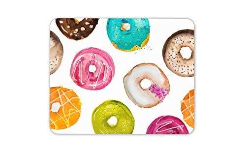 Funky Donuts Mauspad Pad - Donuts Kuchen Bäckerei Lebensmittel Geschenk PC Computer # 8480