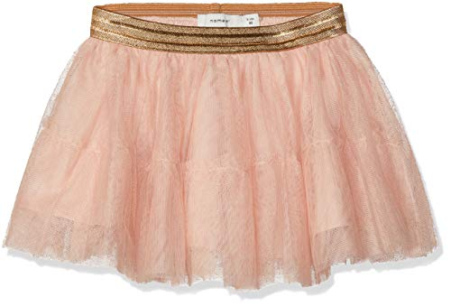 NAME IT Baby-Mädchen Rock NMFTULLU Tulle Skirt NOOS, Rosa Rose Cloud, 80